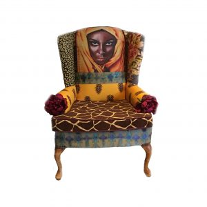 Desert Rose Chair Front View